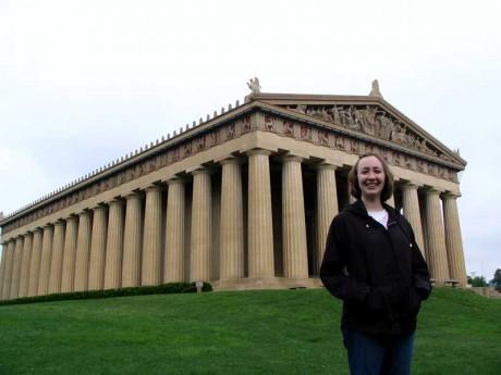 Joy at the Parthenon