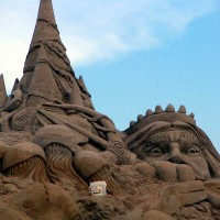 Neptune Sand Castle