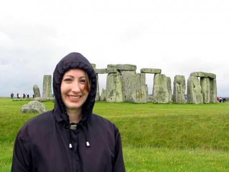 Joy at Stonehenge